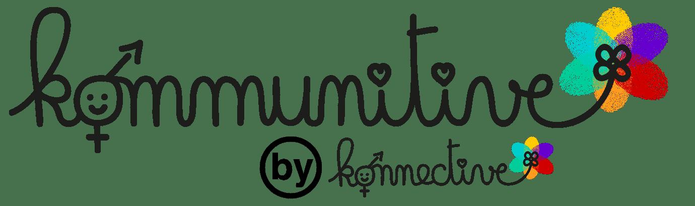 Logo Kommunitive by Konnective noir